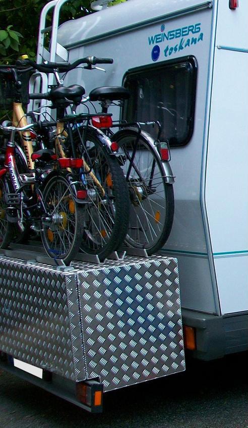 Wohnmobil Heckbox von Brossbox