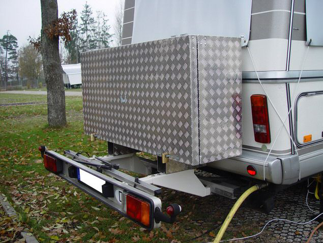 Wohnmobil Heckbox