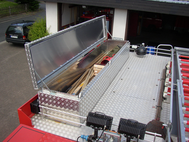 Staubox Feuerwehr