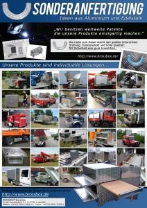 Transportkiste Toolbox Alu Box Sonderanfertigung