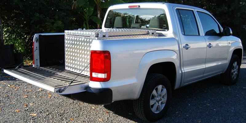 Toolbox für die PickUp Ladefläche