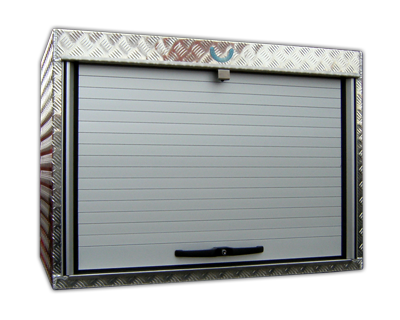 Rollobox aus Aluminium