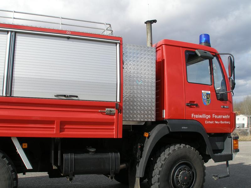 Transportkiste Einsatzwagen