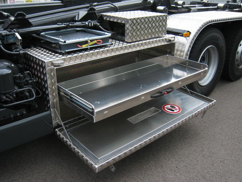 Aluminium Staukasten