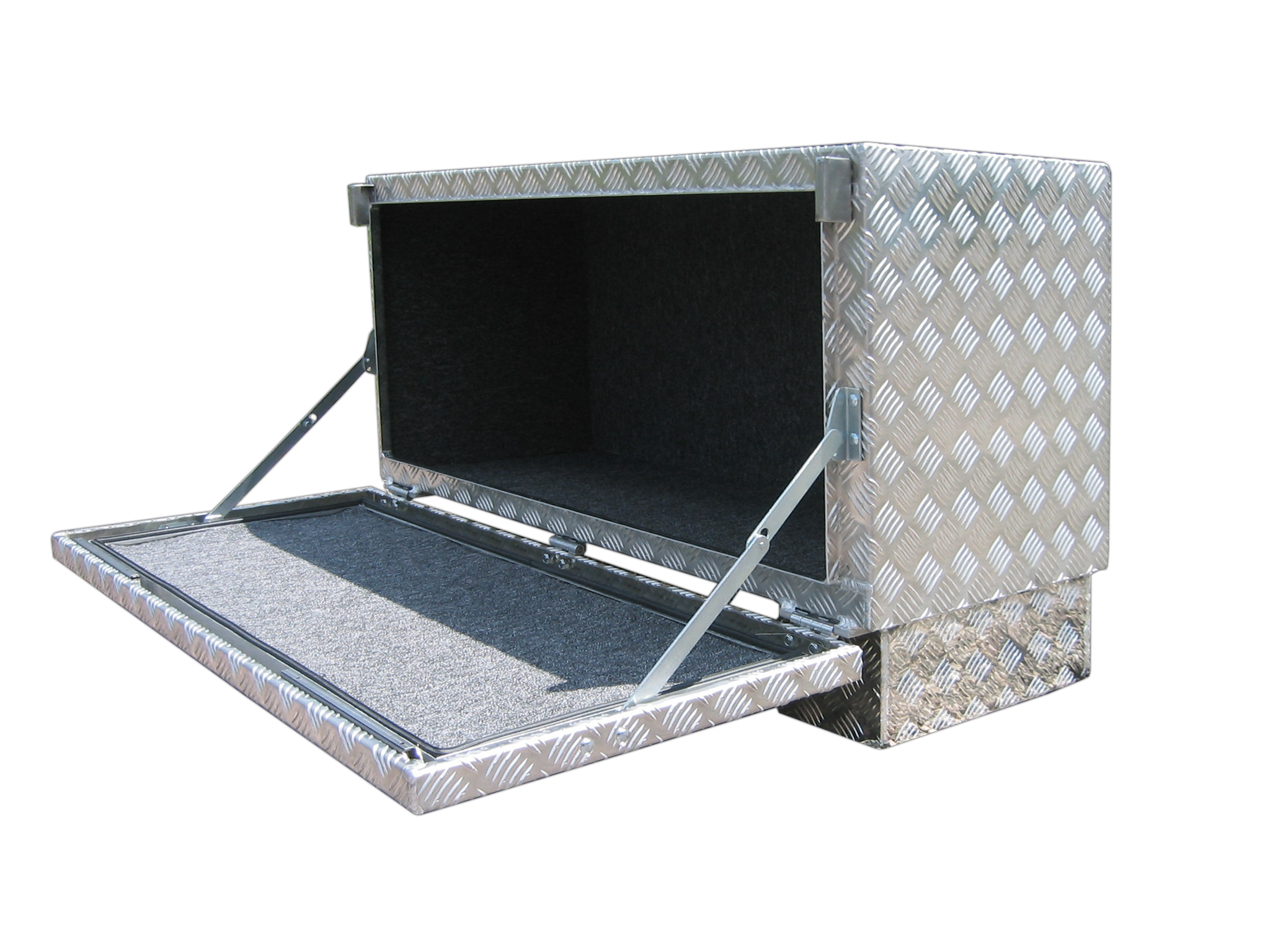 alubox unterflur staukoffer brossbox. Black Bedroom Furniture Sets. Home Design Ideas