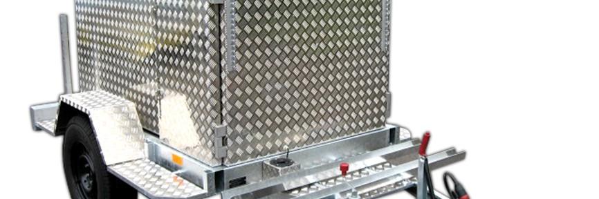 Aluminium Anhänger Fahrzeugaufbau