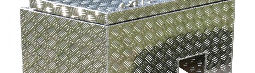 Deichselbox aus Aluminium