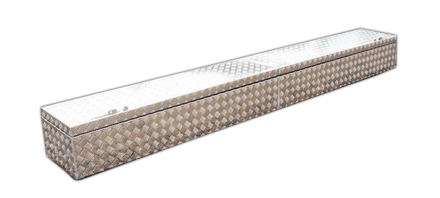 Transportkiste aus Aluminium extra lang