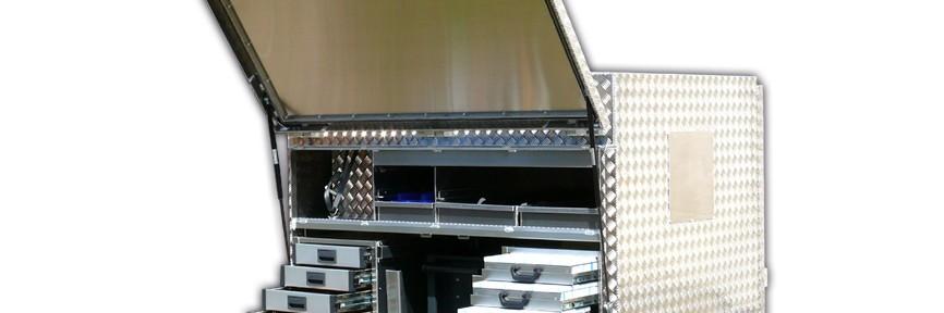 Werkzeugwagen Sonderlösung - mobile Werkstatt