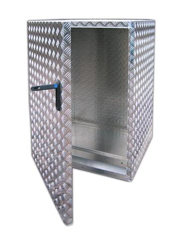 Einzelne Aufbewahrungskiste für Müllcontainer