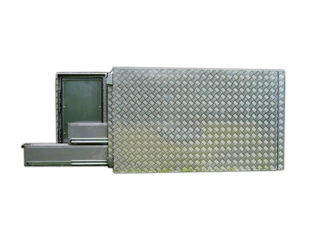 Große Staukiste mit Schubladen - extra stabil