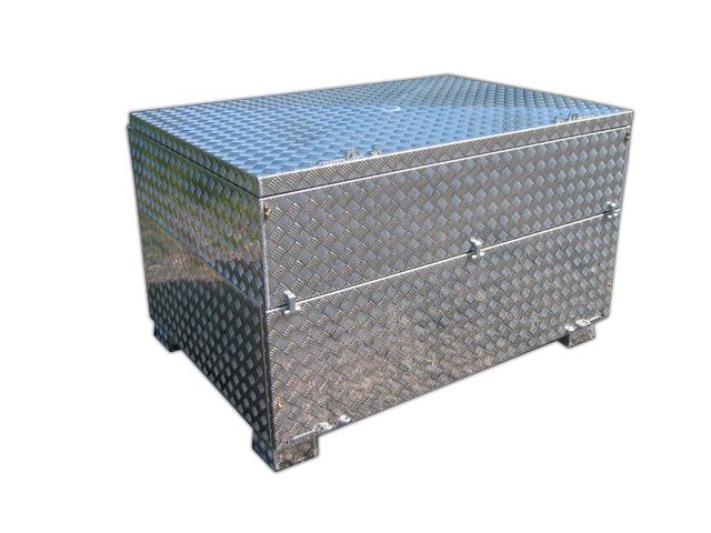 Wasserdichte Werkzeugkiste Aluminium Riffelblech