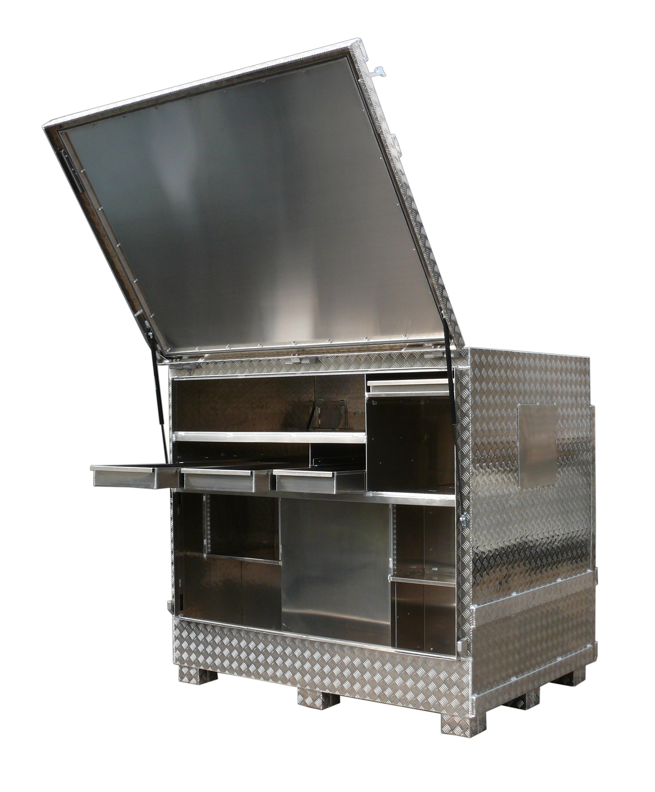 Staukasten Werkstattbox Alu