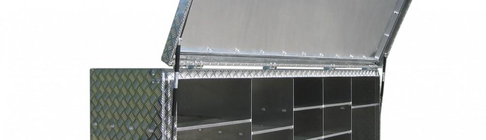 Transportkoffer Aluminium
