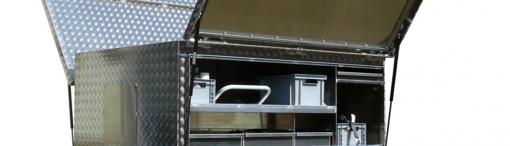 Transportkiste Mobile Werkstatt