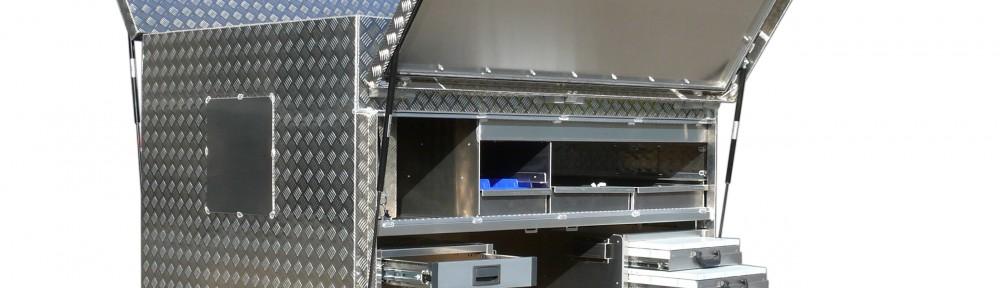 Werkstattwagen Werkstatt XXL Alubox