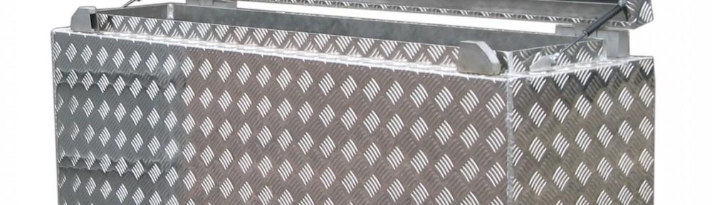Werkzeugkiste Aluminium Sonderanfertigung