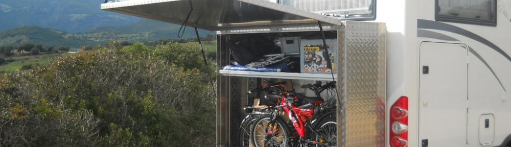 Große Heckbox Wohnmobil