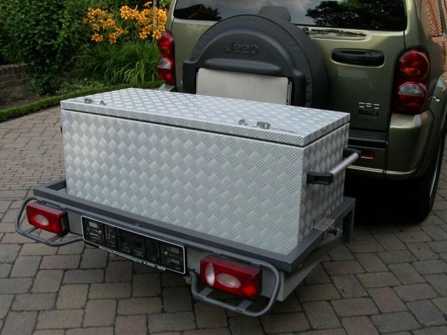 Heckboxen - Gepäckboxen - Brossbox - Alukisten und ...