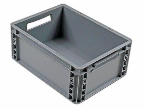Plastik Stapelbox klein grau