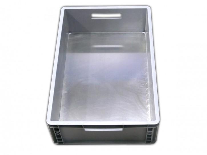 Plastik Stapelbox groß grau