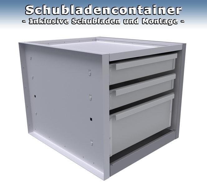 Schubladencontainer mit Ausstattung