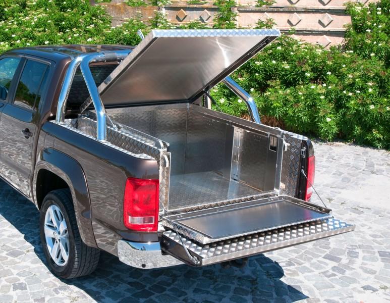 pickup laderaum box xl laderaumabdeckung und hardtop in. Black Bedroom Furniture Sets. Home Design Ideas