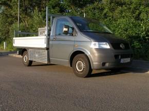VW T5 Eka Unterflurbox, langer Radstand ( 3400 mm ), Fahrtrichtung rechts