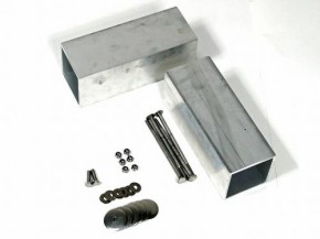 unterflurbox staukasten aus aluminium f r volkswagen t5 doka. Black Bedroom Furniture Sets. Home Design Ideas