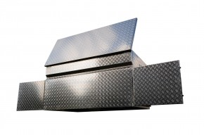 OK2-BOX mit 2 Türen und Deckel
