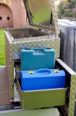 NC-BOX LUX mit umfangreichem Zubehör