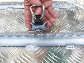 AMAROK Laderaumwanne (DoKa) transparent Pulverbeschichtet